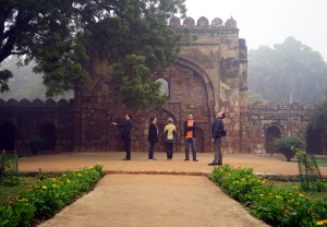 University of Toronto dept of Immunology delegation to Delhi visits a local park!