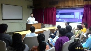 Student leaders at Delhi discuss the platform for NII chapter of BSI